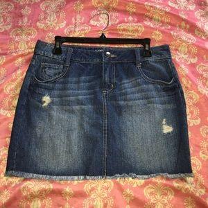 APT. 9 women's jean skirt